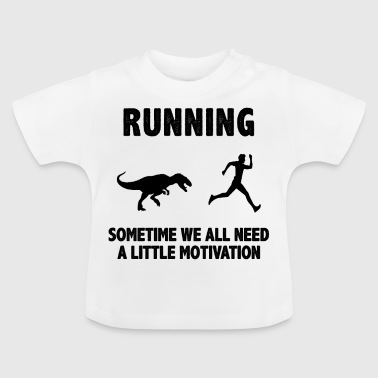 Run Run Running Motivation Shirt & Gift - Camiseta bebé