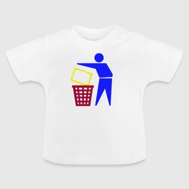 TV Garbage Kill Television TV Gift - Baby T-shirt