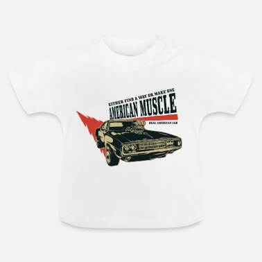 Car American muscle car 2 - Baby T-Shirt