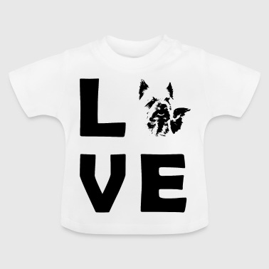LOVE Yorkshire Picture - T-shirt Bébé