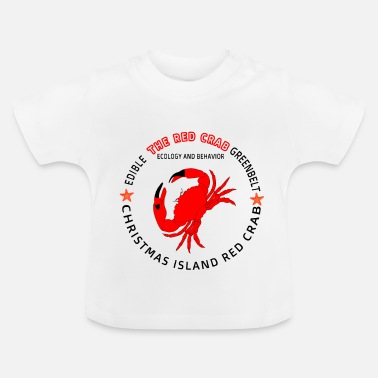 Crabe Crabe Rouge - Red Crab - T-shirt Bébé