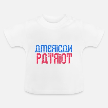 Patriot patriot - Baby-T-shirt