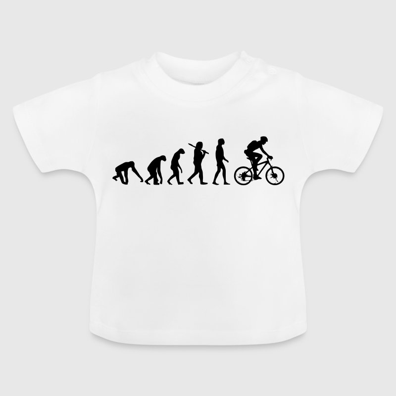 BIKE EVOLUTION - Baby T-Shirt
