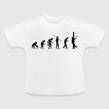 Smartphone Evolution - Pillar - Baby T-Shirt