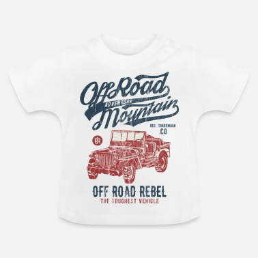 Jeep ADVENTURE JEEP - Off Road Jeep Shirt Motiv - Baby T-Shirt