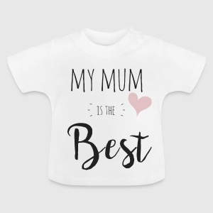 my mum is the best by monkeybaby spreadshirt