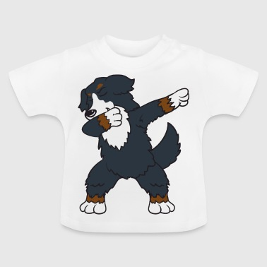 Dog Dancing Dabbing Dab Bernese Mountain Dog Dog Dancing - Maglietta per neonato