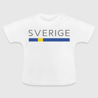ZWEDEN DESIGN - Swedish Zweden Gift - Baby T-shirt