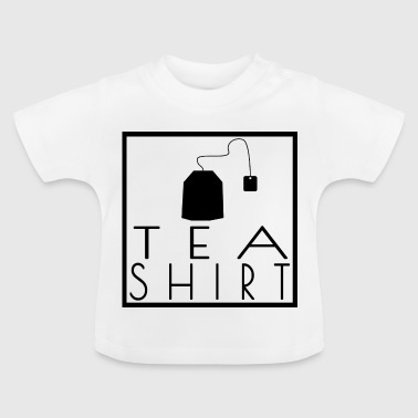 Tea Shirt - Black / Black - Frame / Frame - Baby T-Shirt