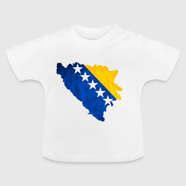 Bosnia flag - Baby T-Shirt