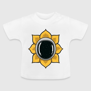 Astronaut Blume Sonne Weltall Space Trend Galaxy - Baby T-Shirt