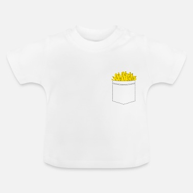 Fries Fries in the breast pocket - Fries Fries - Baby T-Shirt