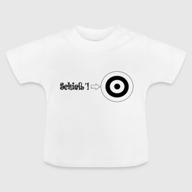 shooter shooters shoot bow and arrow - Baby T-Shirt