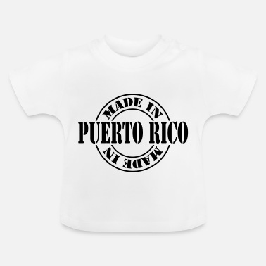 Rico made_in_puerto_rico_m1 - Camiseta bebé