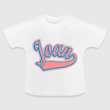 Joan - T-shirt Personalised with your name - Baby T-Shirt