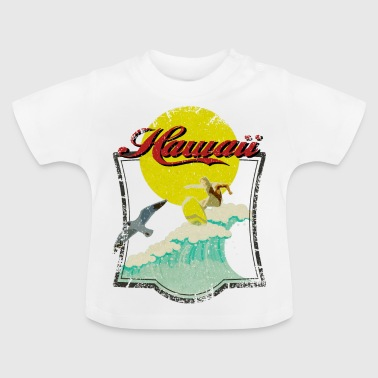 Vintage Hawaii Surfer - T-shirt Bébé