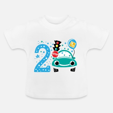 2nd Birthday second birthday 2nd birthday two years old - Baby T-Shirt