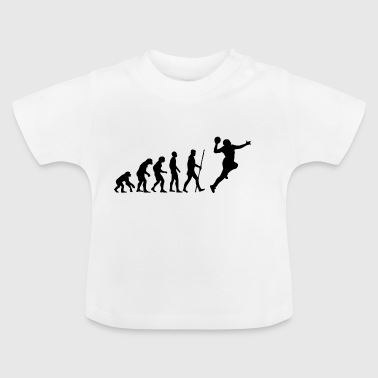 Handball Evolution - Baby T-shirt