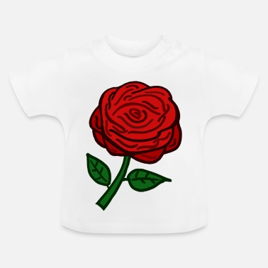 Rote Rose Rote Rose - Baby T-Shirt