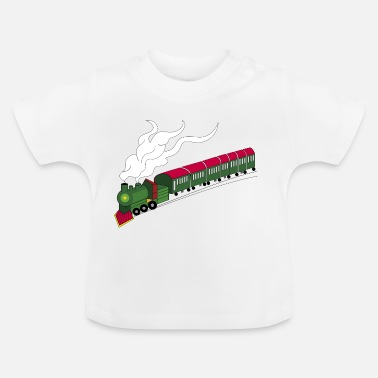 Train De Marchandises train jouet - T-shirt Bébé