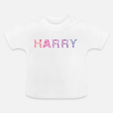 Harry Styles Harry bokstavsnamn - Baby-T-shirt