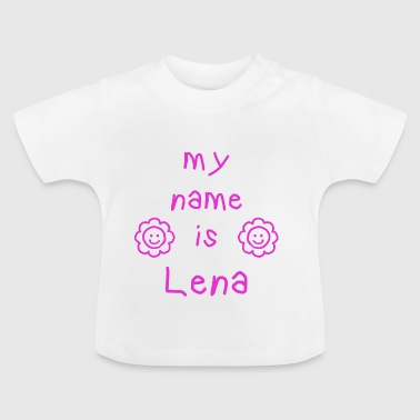 Lena LENA MY NAME IS - T-shirt Bébé