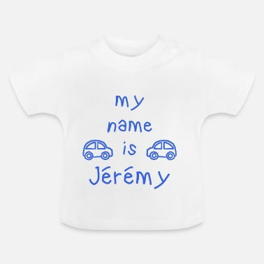 Jérémy NAME IS MY JEREMY - Maglietta per neonato