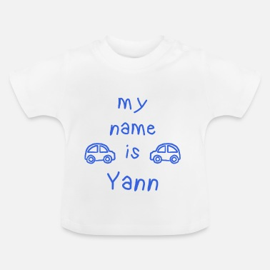 Yann YANN MY NAME IS - T-shirt Bébé