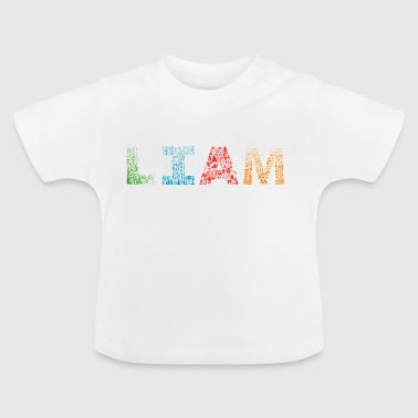 Liam Liam Letter Naam - Baby T-shirt