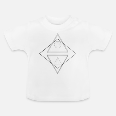 Driehoek driehoek - Baby T-shirt