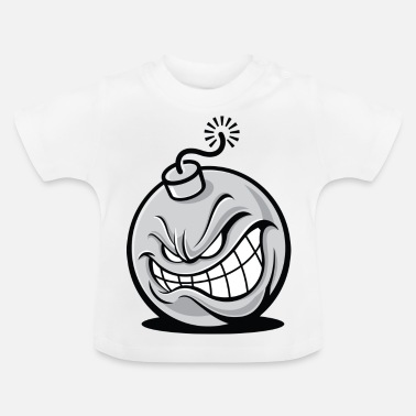 Up An Evil Bomb.It Will Blow You Up! - Baby T-Shirt