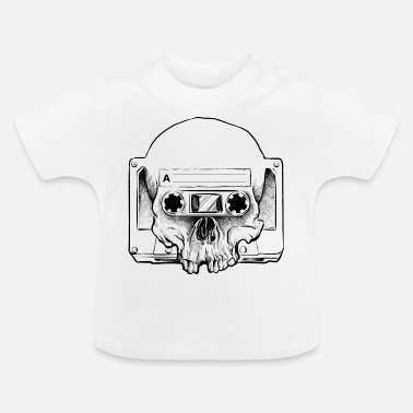 Audio Audio Skull - Baby-T-shirt
