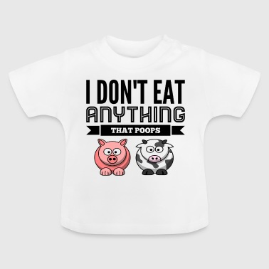 vegan - Baby-T-shirt