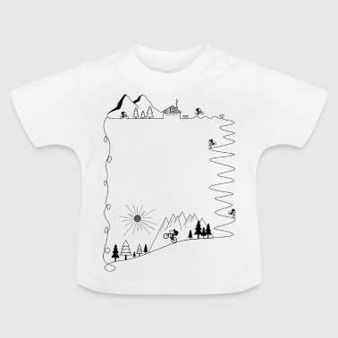 Mtb Mountainbike Mountainbiken Radsport - Baby T-Shirt