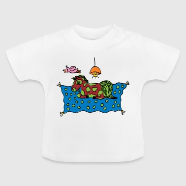 JLB Lisa Painting 02082017 1 - Baby T-Shirt