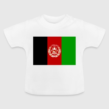 Afghanistan Vlag - Baby T-shirt