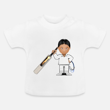 Cricket cricket player - Baby T-Shirt