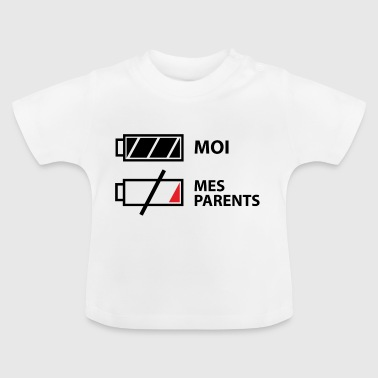 Parent Moi, mes parents - T-shirt Bébé
