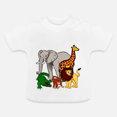 Safari animaux de safari - T-shirt Bébé
