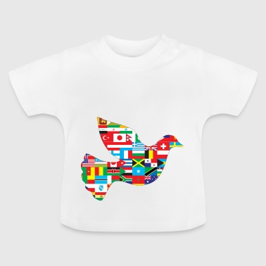 Peace dove of peace - Baby T-Shirt
