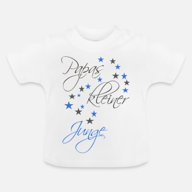 Litte Boy Daddy's little boy - Baby T-Shirt