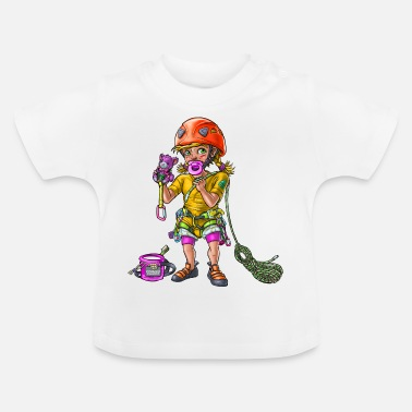 Future Rock Star Little baby climber 1 - Baby T-Shirt