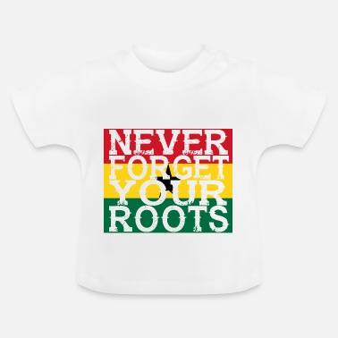 Ghana never forget roots home Ghana - Baby T-Shirt