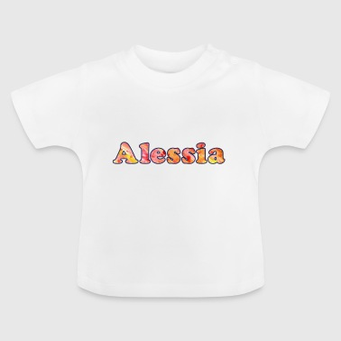 Navn: Alessia - Baby T-shirt
