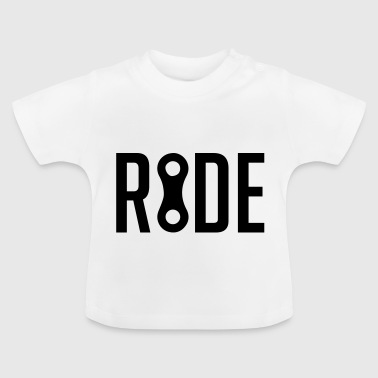 RIDE Bicycle Bike Chain - Baby T-Shirt