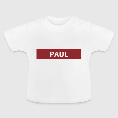 Paul - Camiseta bebé