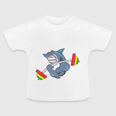 Shark Cross-fit - Camiseta bebé