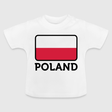 National Flag of Poland - Baby T-Shirt