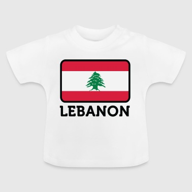 Drapeau national du Liban - T-shirt Bébé