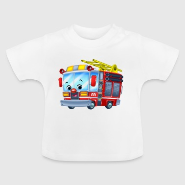Firetruck Arthur Collection - Camiseta bebé